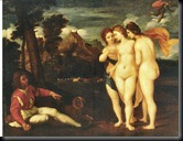 2. Low Resolution - The Earl of Malesbury's - 'The Judgement of Paris' with varnish partially Digitally dissolved N.B.(Colours Altered) (2)