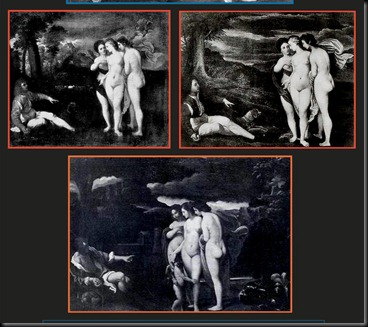 3. The Three Copies and Versions - 1. Uffizi copy, 2. Dresden reduced copy, 3.  Larpent version