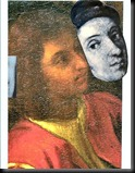 8.Physiognomic Comparison with an image of Raphael from 'The School of Athens' from the same period. (Reversed)  (2)