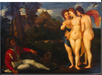 1. Raphael's 1512 'The Judgement of Paris'
