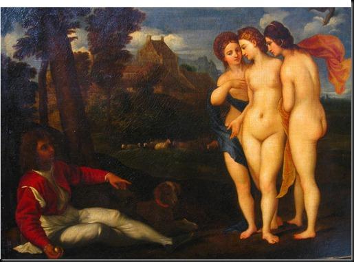 1. Raphael's 1512 'The Judgement of Paris'