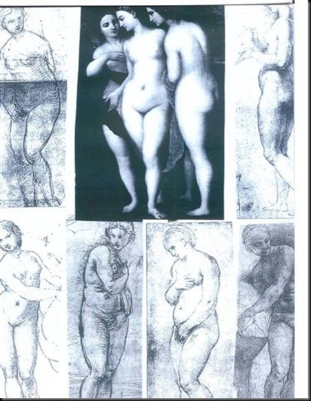 9. Related & Indirectly related Comparative Single Figure Drawings