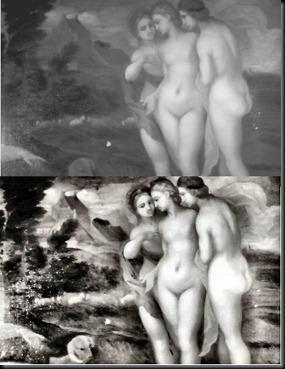 2. Both Infra-red & VegaScan of Goddesses Body Sections