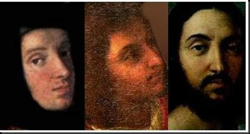 2. Raphael's 1512 Date Specific Physiognomy and its demonstable concordance with those of him at varying ages