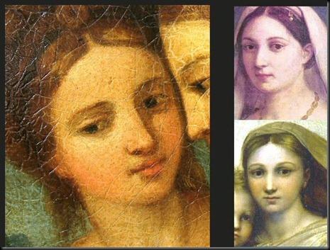 5. Fornarina Facial Comparisons