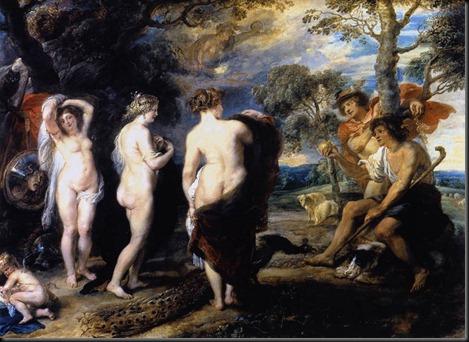 Rubens, Judgment of Paris c1636