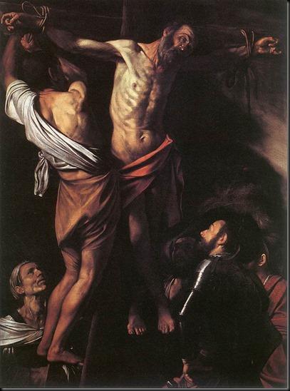 Caravaggio_Crucifixion_santandrew