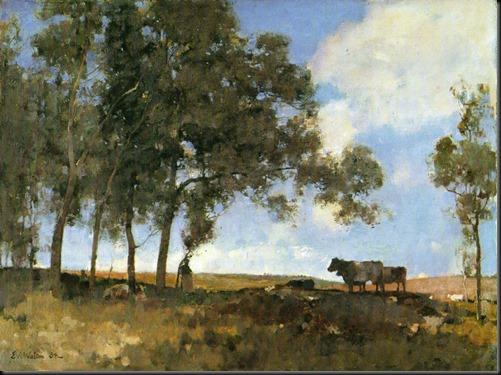 Edward_Arthur_Walton_-_Autumn_Sunshine_1883
