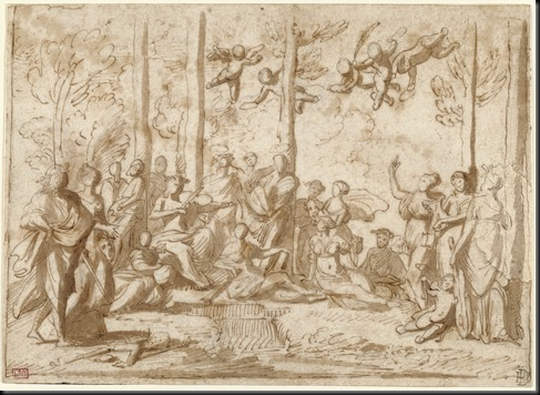 Apollo and the Muses on Mount Parnassus
