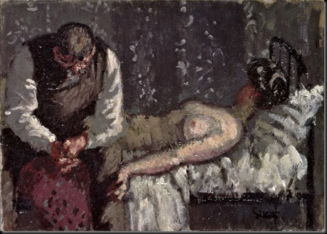 The Camden Town Murder, by Walter Sickert