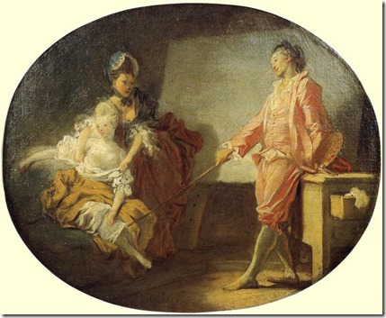 Jean-Honore-Fragonard-The-New-Model