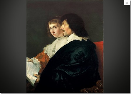 Double Portrait of Constantijn Huygens (1596-1687) and Suzanna van Baerle (1599-1637)_20150123004605