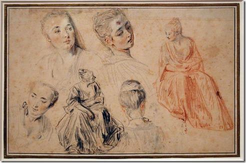 Antoine_watteau,_studi_di_donna_seduta_e_teste,_1717-18_ca._(rijksmuseum_amsterdam) (1)